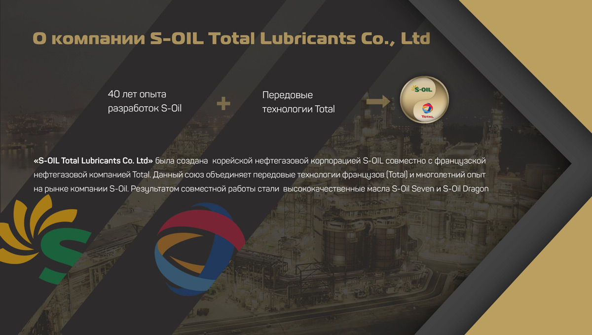 О компании S-OIL Total Lubricants Co., Ltd